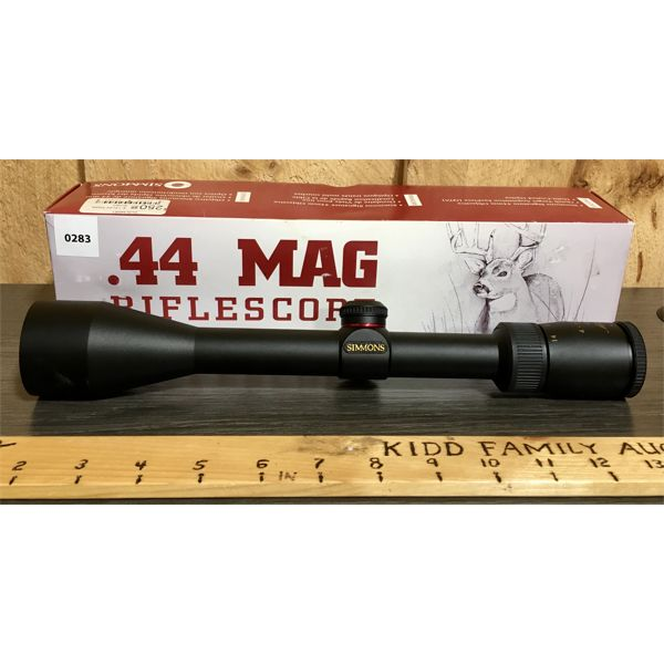 SIMMONS 4-14X44 MAG SCOPE - AS NEW