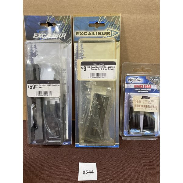 LOT OF 3 - EXCALIBUR BOW ACCESSORIES