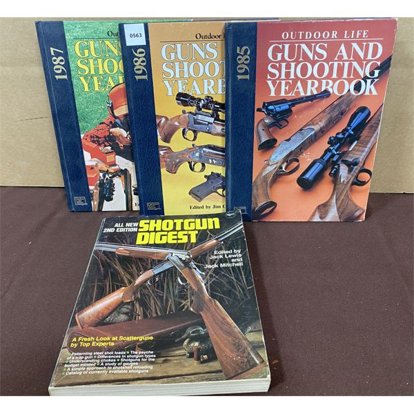 LOT OF 4 - HUNTING REFERENCE BOOKS