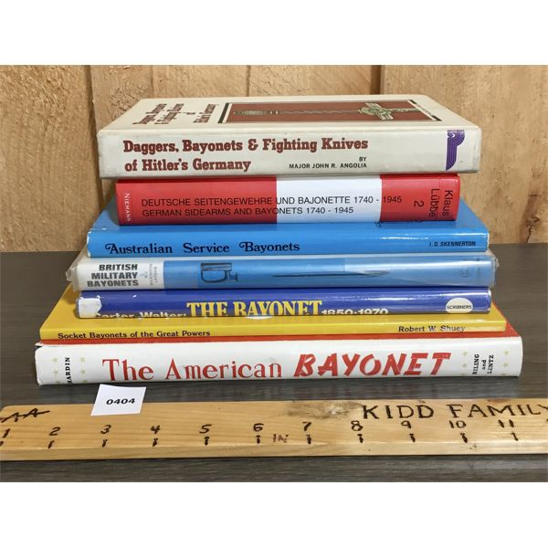 LOT OF 7 - BAYONET RELATED PUBLICATIONS