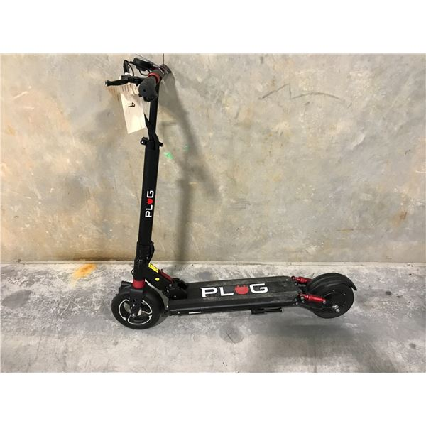 BLACK PLUG SCOOTER - NO CHARGER