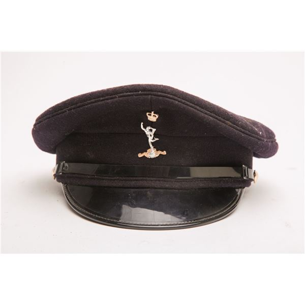 Navy Military Hat, White Military Hat, Navy with R