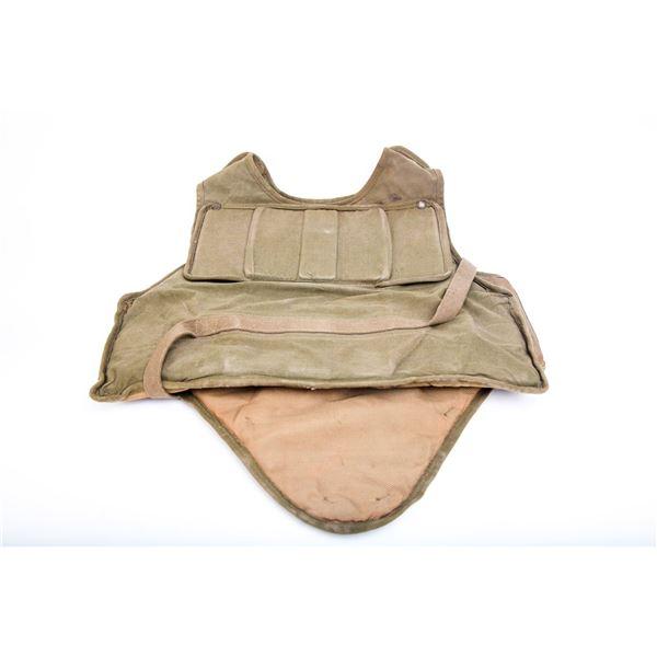 Military Vest Heavy duty Tan