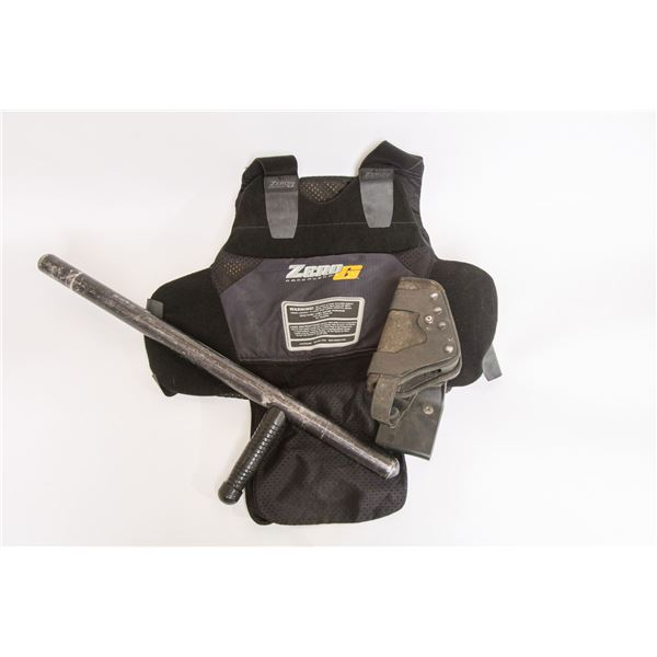 Set of one Tactical Movie Vest, Holster & Baton