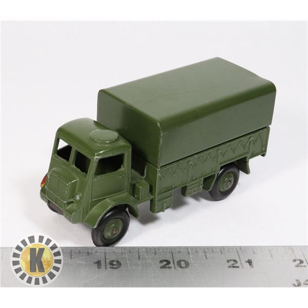 #3DINKY TOYS #623 ARMY WAGON TRUCK MILITARY
