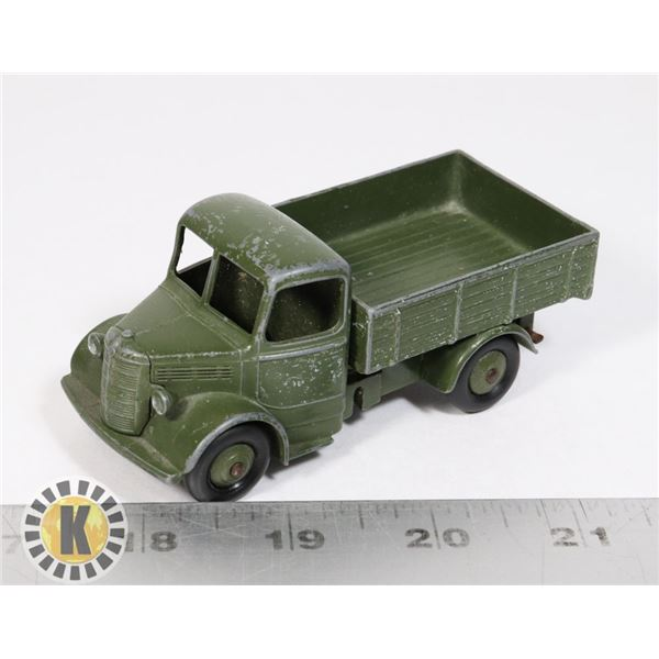 #4 DINKY TOYS  #640 BEDFORD ARMY TRUCK MECCANO