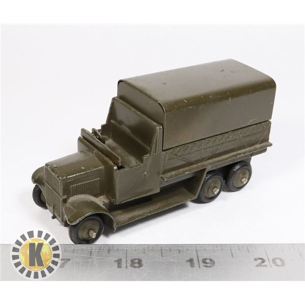 #8 DINKY TOYS #151B 6-WHEELED COVERED WAGON