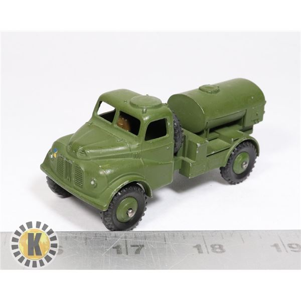 #13 DINKY TOYS #643 ARMY WATER TANKER MILITARY
