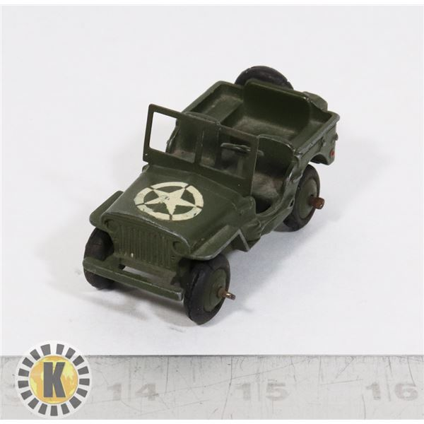 #23 DINKY TOYS #153A JEEP ARMY MILITARY VEHICLE