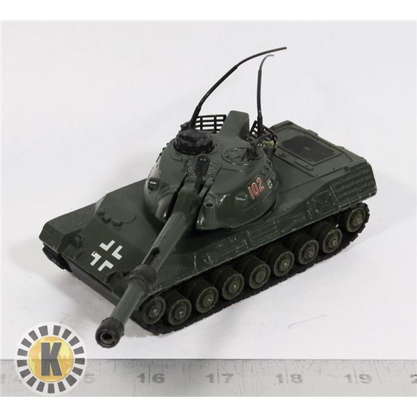 #40  DINKY TOYS #692 LEOPARD TANK MILITARY