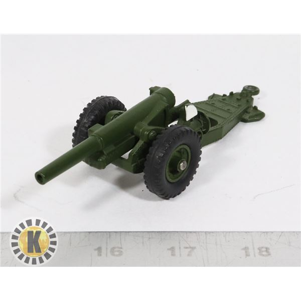 #50   DINKY TOYS #693 7.2 HOWITZER MILITARY