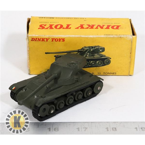 #57  BOXED DINKY TOYS #80C CHAR A.M.X. TANK