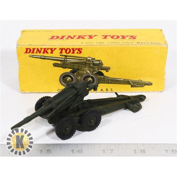 #60  BOXED DINKY TOYS #80E OBUSIER DE 155 A.B.S.