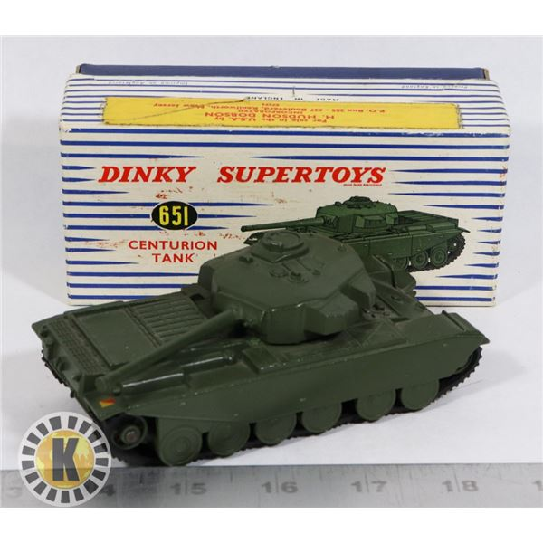 #61  BOXED DINKY SUPERTOYS #651 CENTURION TANK