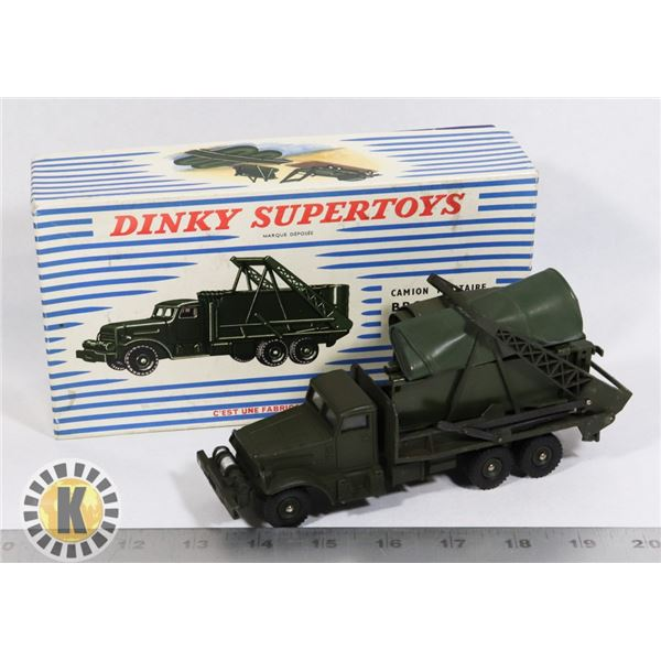 #63  RARE BOXED DINKY SUPERTOYS #884 CAMION