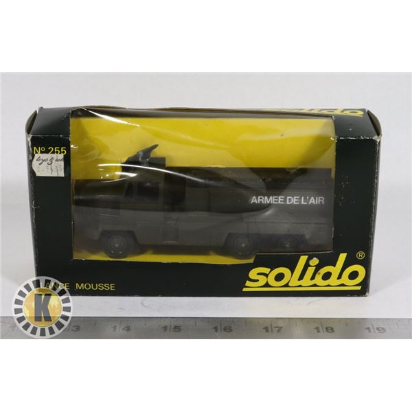 #77  BOXED SOLIDO DIECAST #255 LANCE MOUSSE