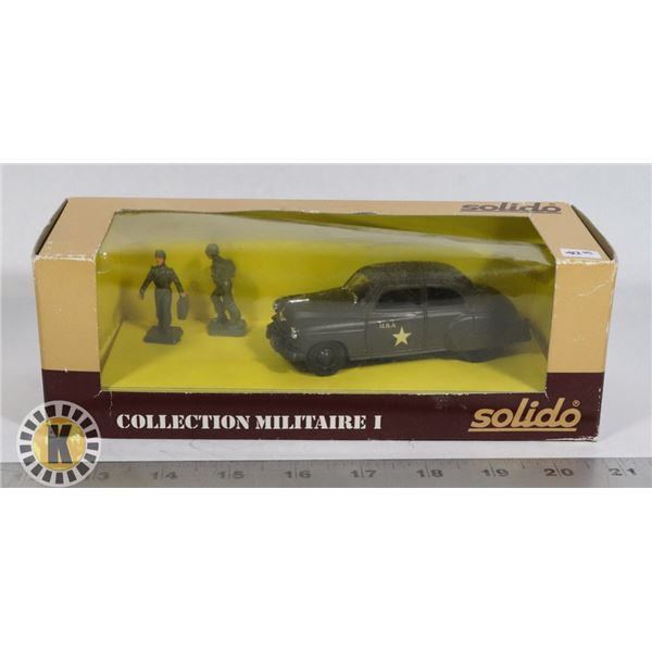 """#78  BOXED SOLIDO DIECAST """"COLLECTION MILITAIRE"""