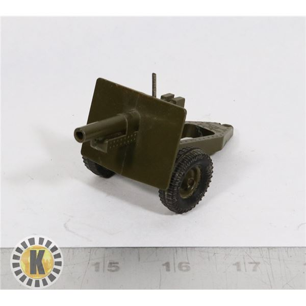 #87  BRITAINS TOY FIELD CANNON GUN MILITARY ARMY