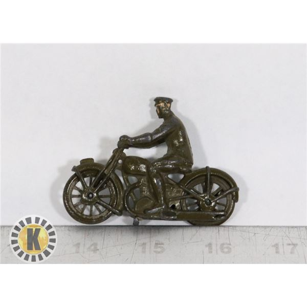#88  BRITAINS TOY ARMY DISPATCH RIDER, EARLY,