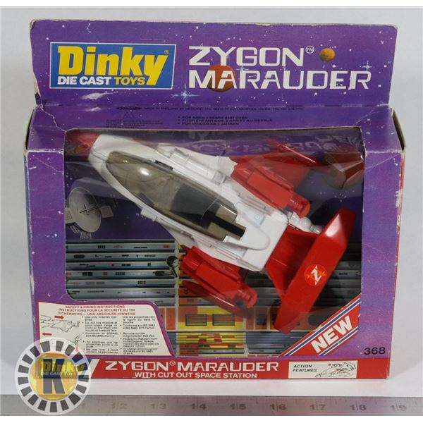 #96  BOXED DINKY TOYS #368 ZYGON MARAUDER SPACE
