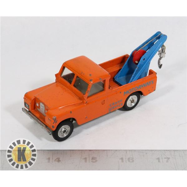 #111  RARE MADE IN NORTHERN IRELAND TOY TOW TRUCK