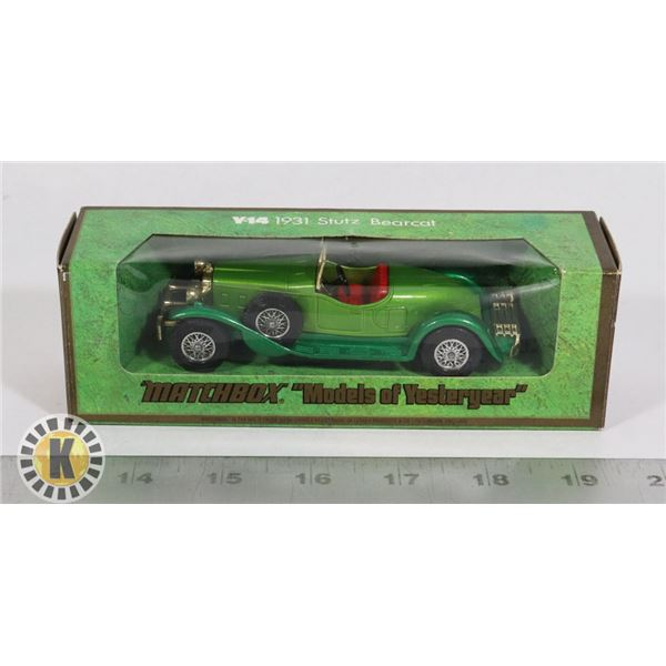 #112  BOXED MATCHBOX MODELS OF YESTERYEAR Y-14