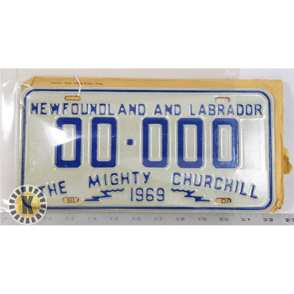 #186 SAMPLE PLATE WITH ORIGINAL MAIL ENVELOPE