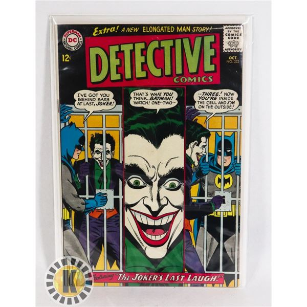 #228 DC DETECTIVE COMICS #332 12 CENT BATMAN JOKER