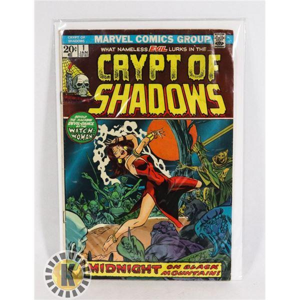 #229  MARVEL COMICS CRYPT OF SHADOWS #1 HORROR CO