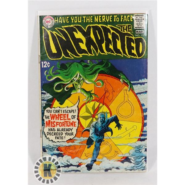 #230  DC DETECTIVE COMICS THE UNEXPECTED #111 HOR