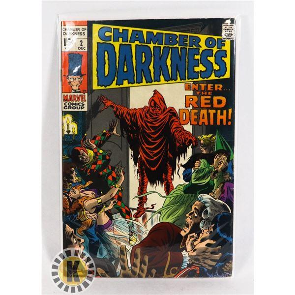 #232  MARVEL COMICS CHAMBER OF DARKNESS #2  HORRO