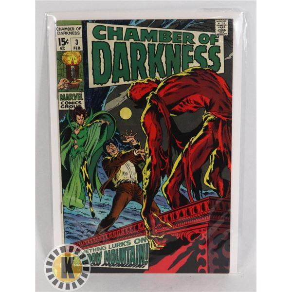 #233  MARVEL COMICS CHAMBER OF DARKNESS #3 HORROR