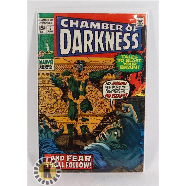 #234  MARVEL COMICS CHAMBER OF DARKNESS #5 HORROR