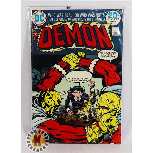 #239  DC DETECTIVE COMICS THE DEMON #15 1973