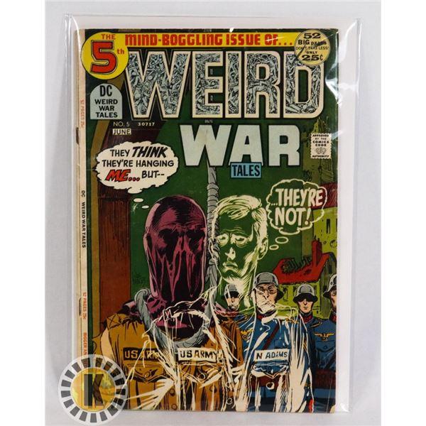 #241  DC DETECTIVE COMICS WEIRD WAR TALES #5 WAR