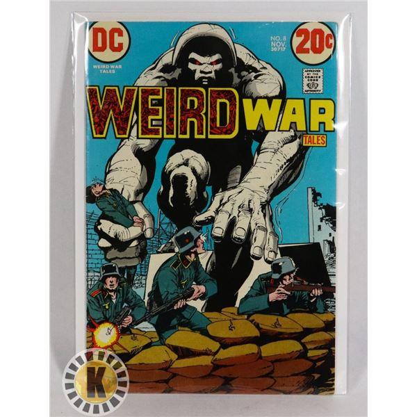 #242  DC DETECTIVE COMICS WEIRD WAR TALES #8 1972