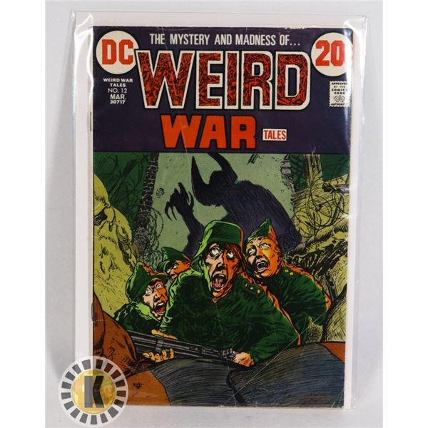#243  DC DETECTIVE COMICS WEIRD WAR TALES #12 197
