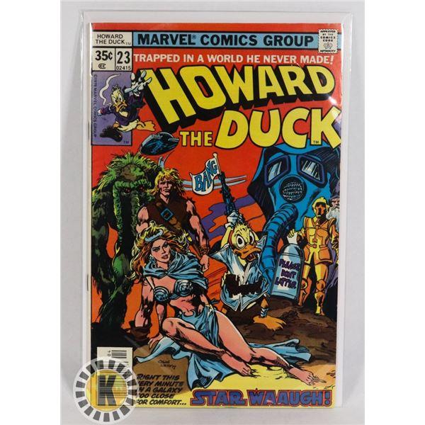 #246  MARVEL COMICS HOWARD THE DUCK #23 1978 STAR