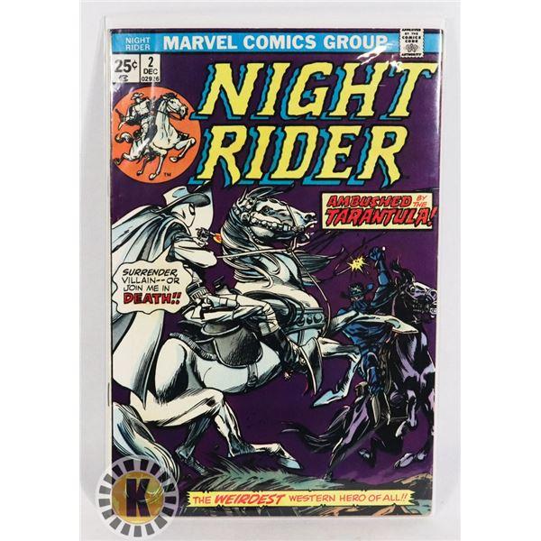 #247  MARVEL COMICS NIGHT RIDER #2 1974
