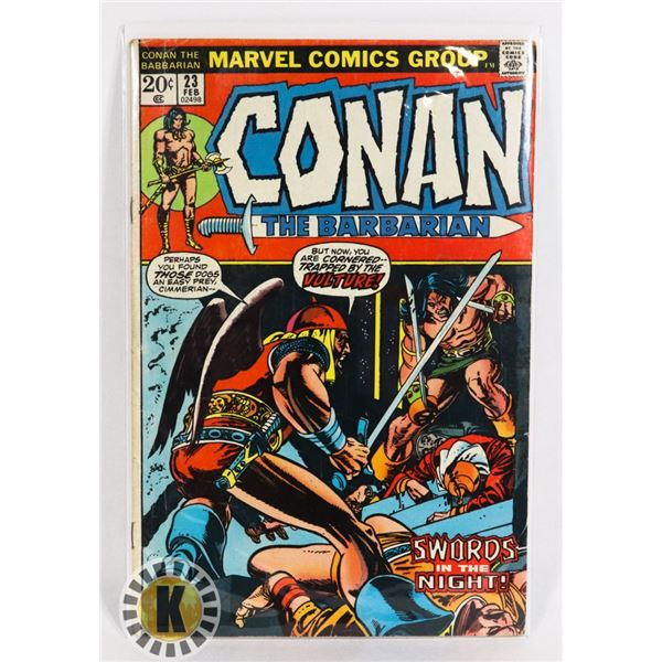 #248  KEY FIRST APPEARANCE RED SONJA MARVEL COMIC