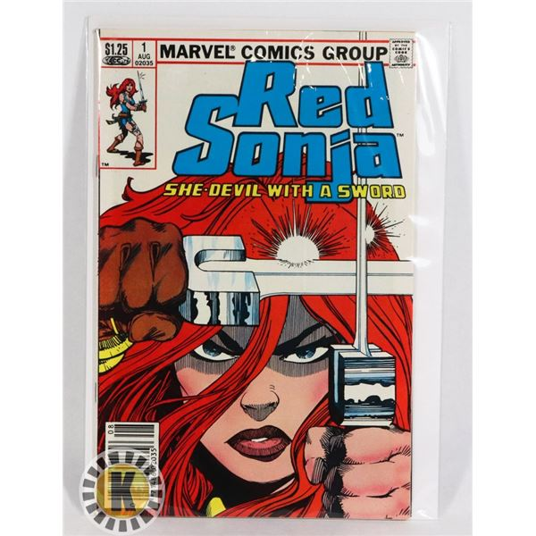 #249 MARVEL COMICS RED SONJA SHE DEVIL WITH A