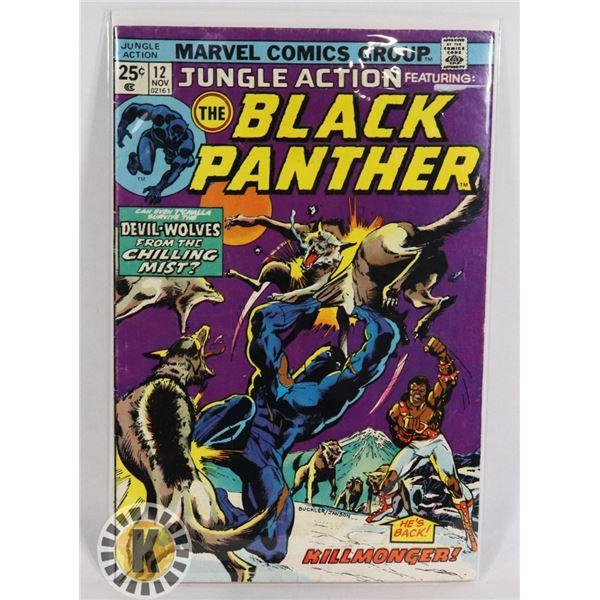 #250 MARVEL COMICS JUNGLE ACTION #12 THE BLACK