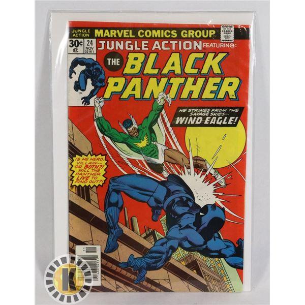 #251 MARVEL COMICS JUNGLE ACTION #24 THE BLACK