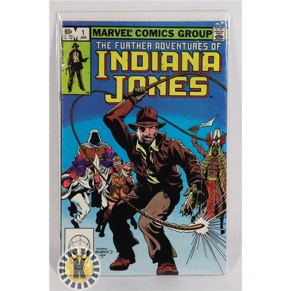 #255 MARVEL COMICS INDIANA JONES #1 1983