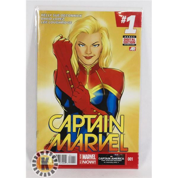 #258 MARVEL COMICS CAPTAIN MARVEL #1 ALL NEW