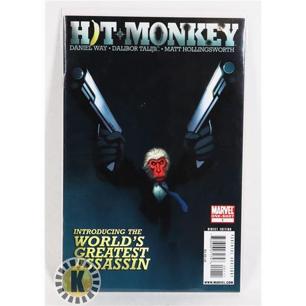 #260 MARVEL COMICS ONE SHOT HIT MONKEY #1 2010
