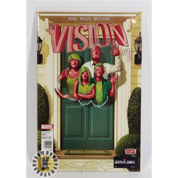 #264 MARVEL COMICS THE VISION #1 T1ST APPEARANCE