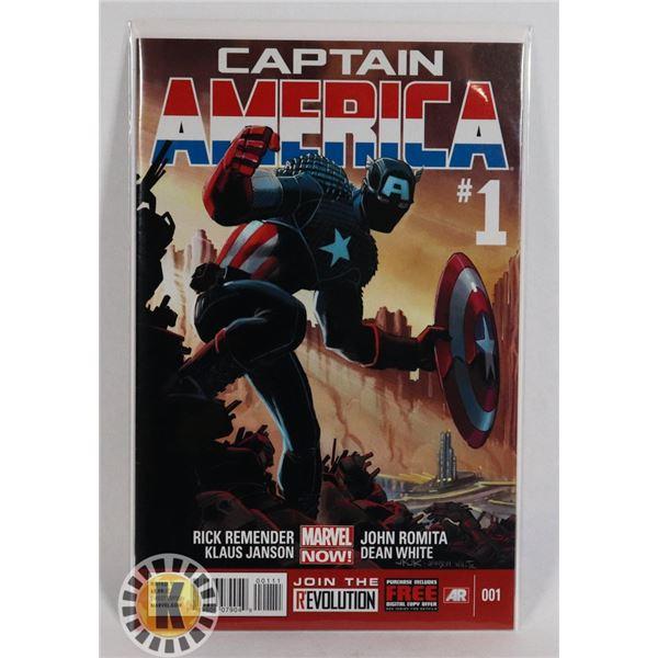 #266 MARVEL COMICS CAPTAIN AMERICA #1 MARVEL NOW