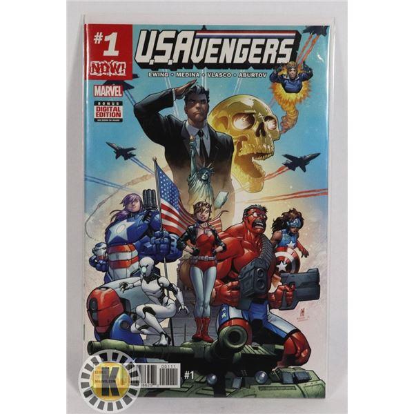 #267 MARVEL COMICS U.S. AVENGERS #1 2017