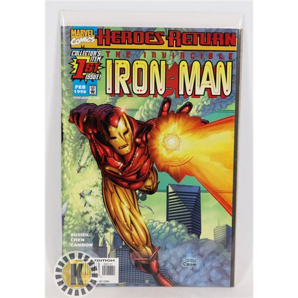 #273 MARVEL COMICS THE INVINCIBLE IRON MAN #1